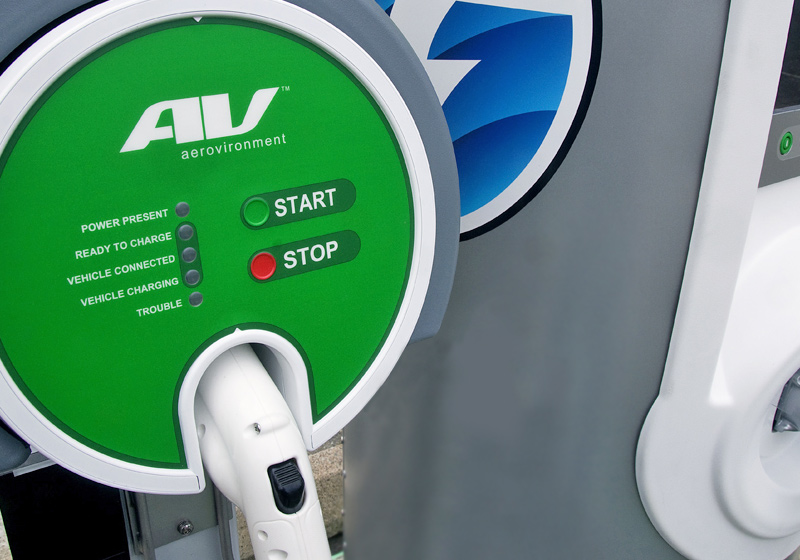 Electric vehicle (EV) charging points